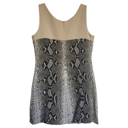 Carven Mini dress with snake-print