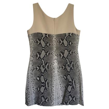 Carven Mini-Kleid mit Schlangen-Print
