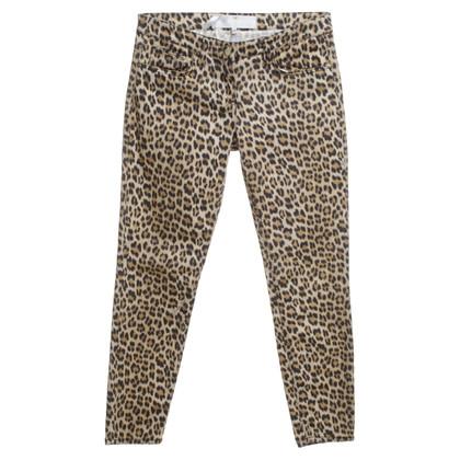Elisabetta Franchi Jeans in luipaardprint