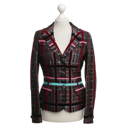 Rena Lange Blazer with plaid pattern