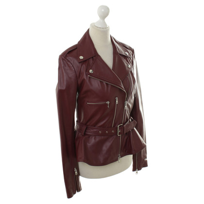 Alexander McQueen Bikerjacke leather