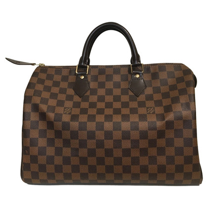 "Louis Vuitton ""Speedy 35 Damier Ebene Canvas"""