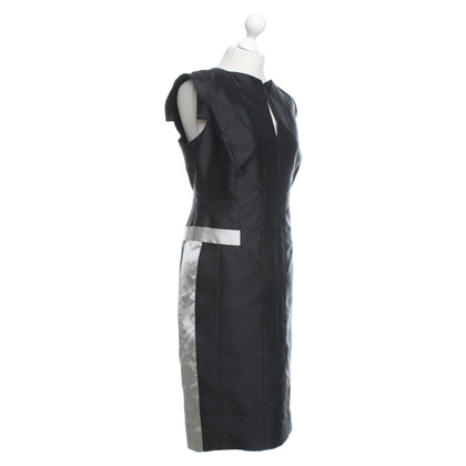 Amanda Wakeley Silk dress in black / grey