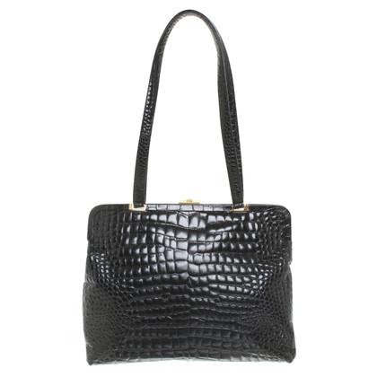 Versace Handbag in crocodile look