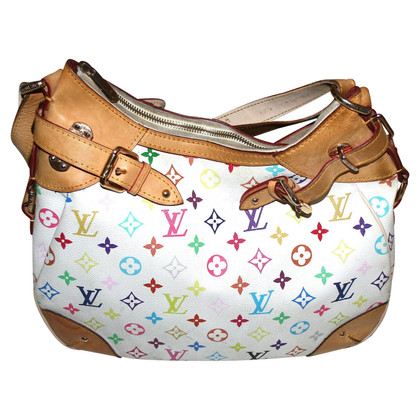 "Louis Vuitton ""Greta Monogram Multicolore Canvas"""