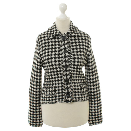 Marc Cain Jacket in black/white