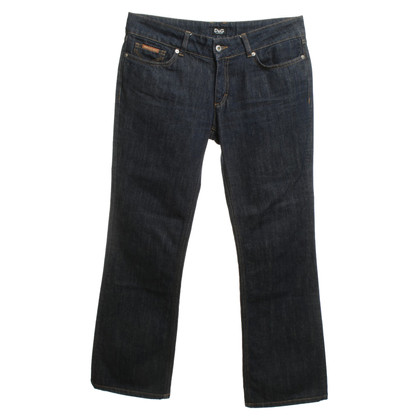 Dolce & Gabbana i jeans bootcut in blu scuro