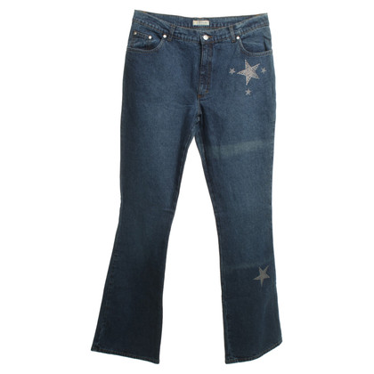 Blumarine Jeans with star motif