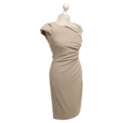 L.K. Bennett Schede jurk met draperen