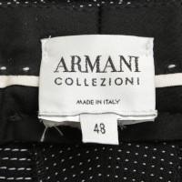 Armani Collezioni Broekpak met witte stippen