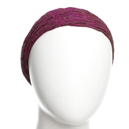Missoni Hair band with metallic yarn