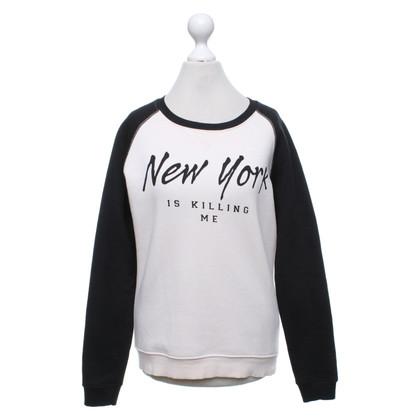 Zoe Karssen Sweatshirt in black / pink