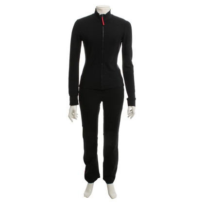 Prada sci giacca e pantaloni in nero