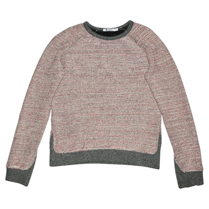 T by Alexander Wang Maglione in cotone multicolore