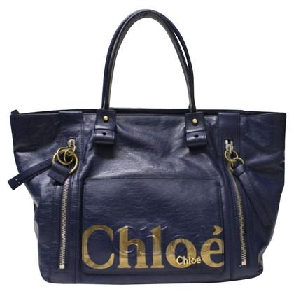 Chloé Schultertasche in Blau
