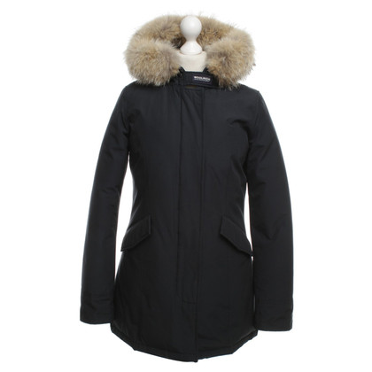 Woolrich Down parka with fur trim