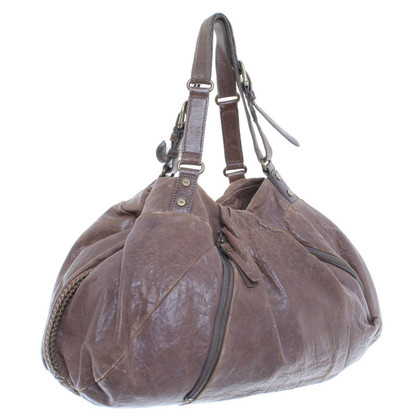 Diane von Furstenberg Shopper made of leather
