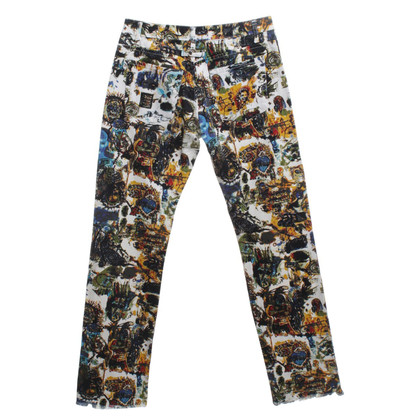 Jean Paul Gaultier trousers with pattern