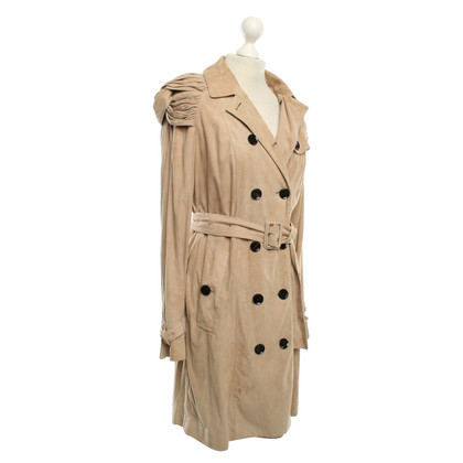 Burberry Prorsum Leather coat in beige