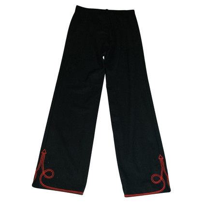 Kenzo trousers with embroidery