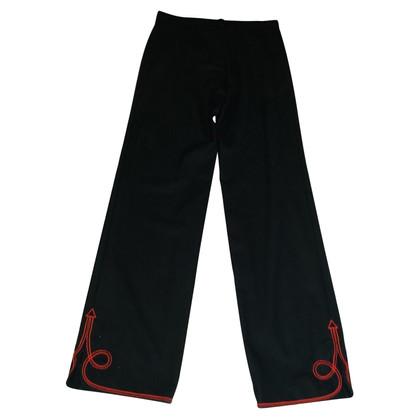Kenzo Pantalon avec broderie