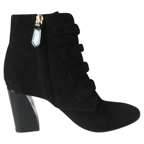 dc1386b27788 Tory Burch Ankle boots Suede in Black - Second Hand Tory Burch Ankle ...