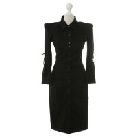 Balmain Shirt dress in black