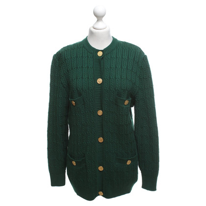 Céline Fir Green Cardigan
