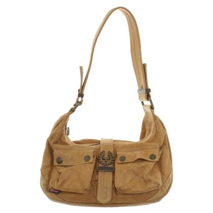 Belstaff Handbag with hole pattern