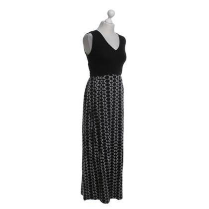 Hobbs Maxi jurk in zwart / White