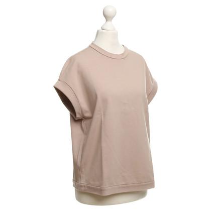 Brunello Cucinelli Camicia di cotone beige
