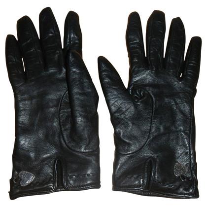 Moschino guanti pelle