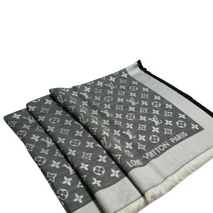 Louis Vuitton Monogram Denim Doek in zwart