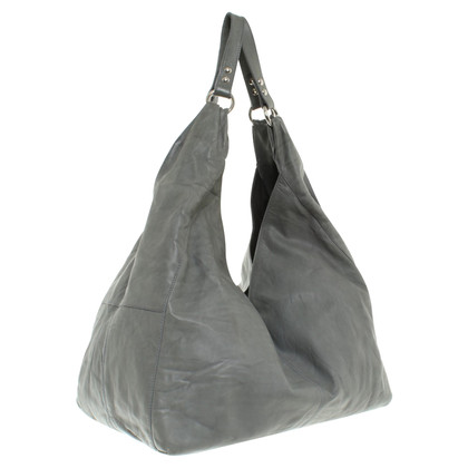 Filippa K Leather Hopper in antraciet
