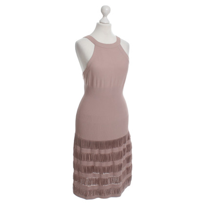 Alaïa Dress with ribbed knit structure