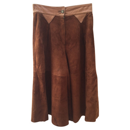 Karl Lagerfeld Leather culottes