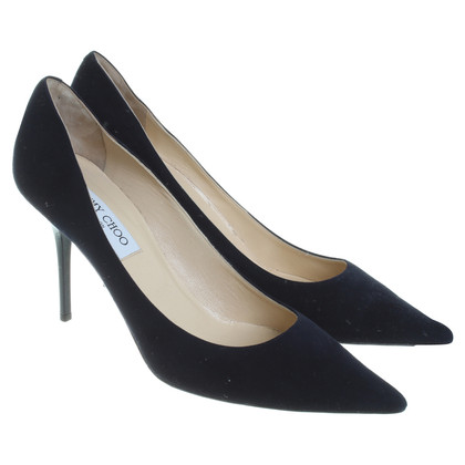 Jimmy Choo Pumps in Dunkelblau