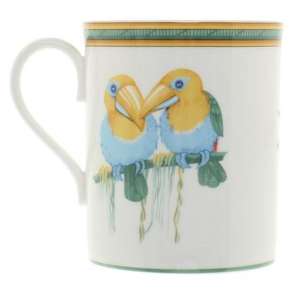 """Hermès Cup set """"Toucan"""""""