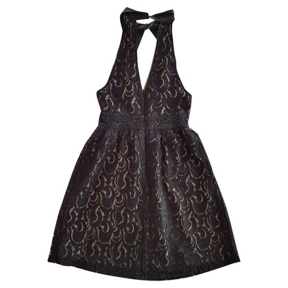 Anna Sui Halter lace dress