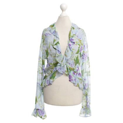 Nusco blouse d'été avec imprimé floral