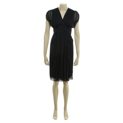 Diane von Furstenberg Silk dress in dark blue