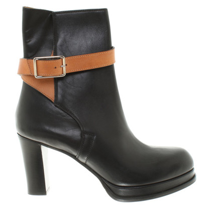 Acne Leather ankle boots