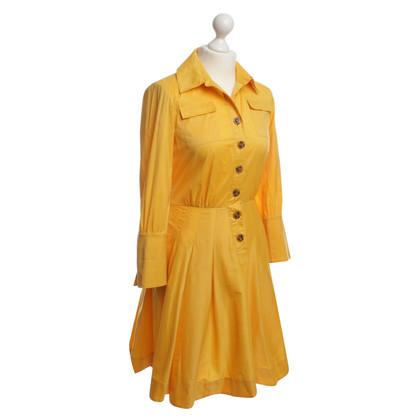 "Diane von Furstenberg Abito ""Rosina"" in giallo"
