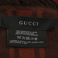 Gucci Tuch mit Pelzbesatz