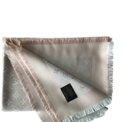 Louis Vuitton Monogram denim cloth in rosé