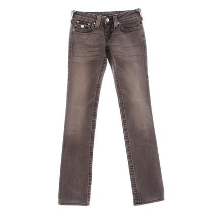 """True Religion Jeans """"disco Billy"""" grey W24"""