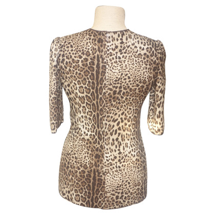Dolce & Gabbana Shirt with leopard pattern