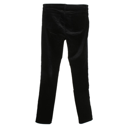 J Brand Jeans made of black velvet