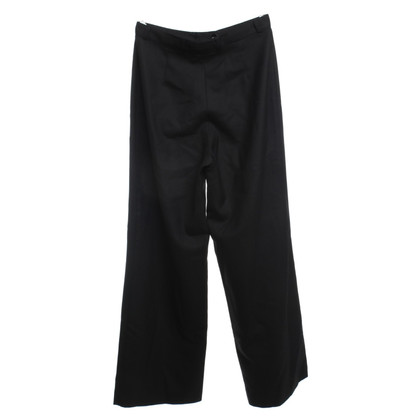 Loro Piana Trousers in black