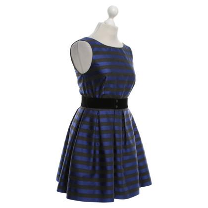 P.A.R.O.S.H. Dress in grey / blue